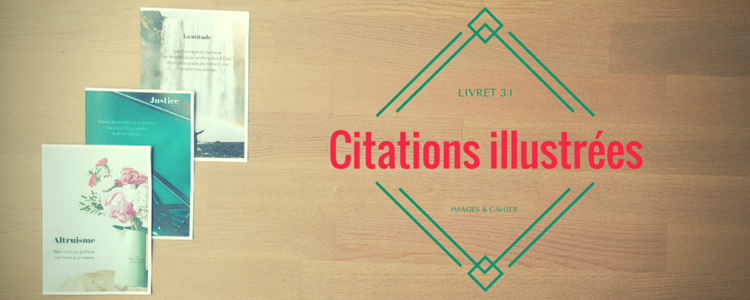 Citations du livret 3.1