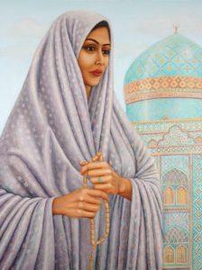 Portrait de Tahirih, la Pure