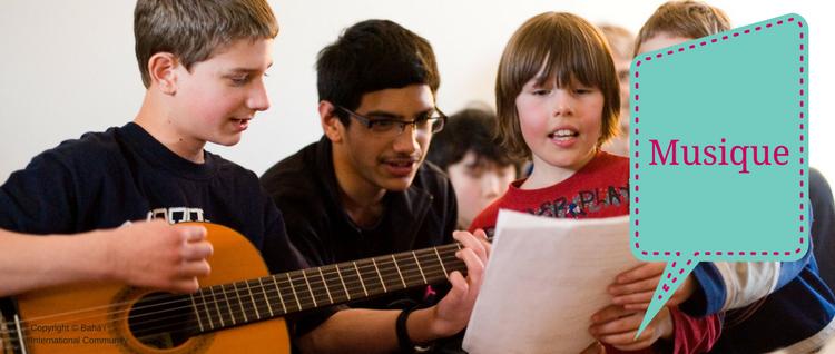 Apprendre les chants… avec des percussions!