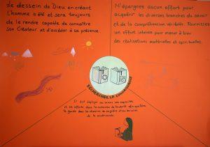 """Citations et dessins du thème 3: """"Rechercher la connaissance"""""""
